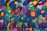 triptych acrylic/canvas, 200 x 300 cm