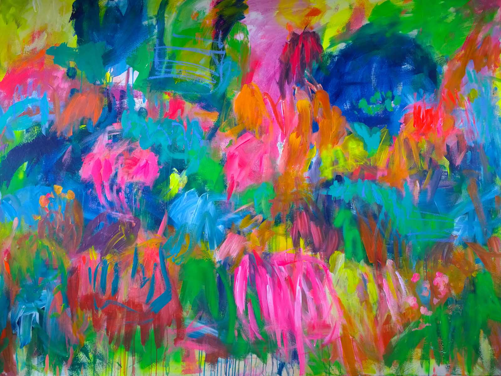 colour migrations no. 2/2016, acrylics/canvas, 150x200cm