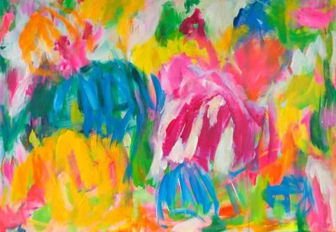 colour migrations no. 11/2016, acrylics/canvas, 70x100cm