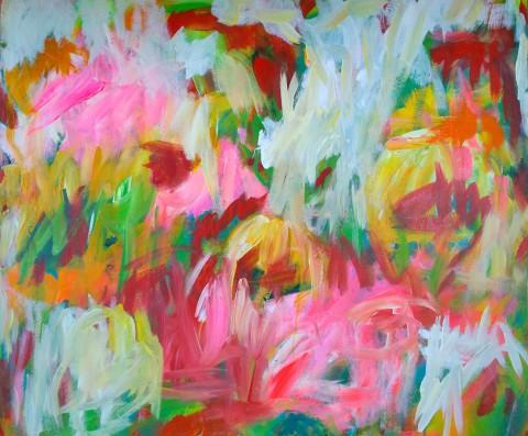 colour migrations no. 6/2016, acrylics/canvas, 100x120cm