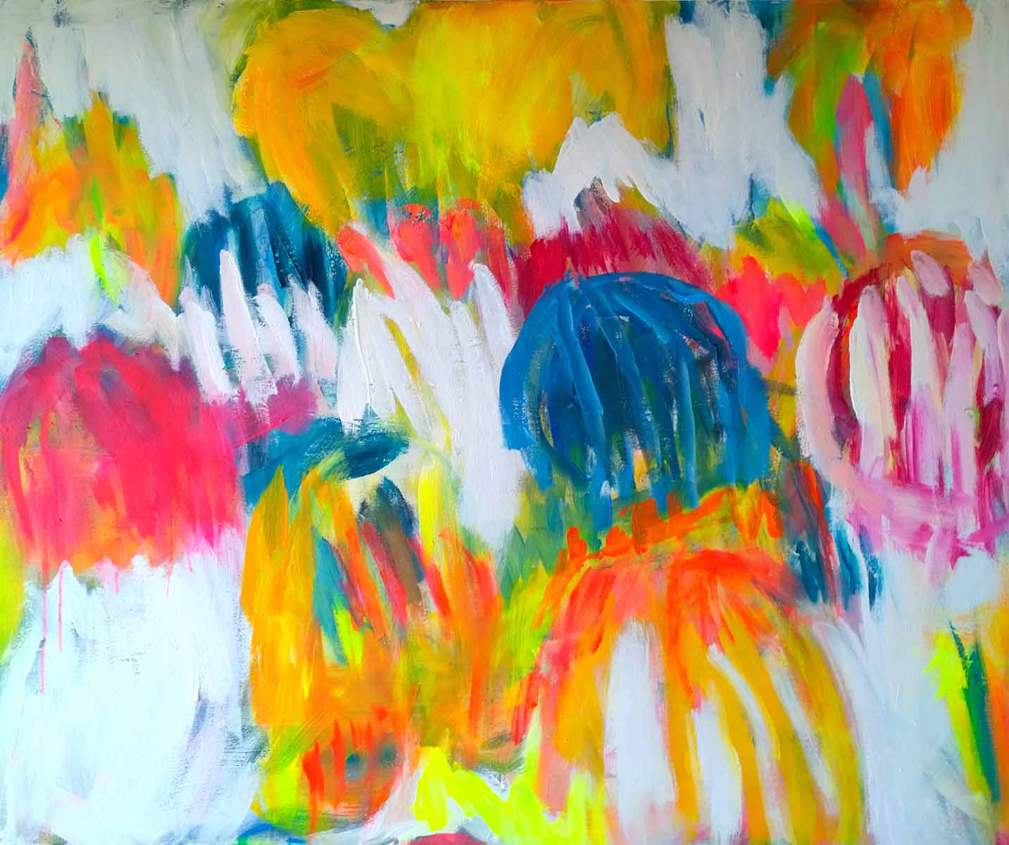 colour migrations no. 3/2016, acrylics/canvas, 100x120cm