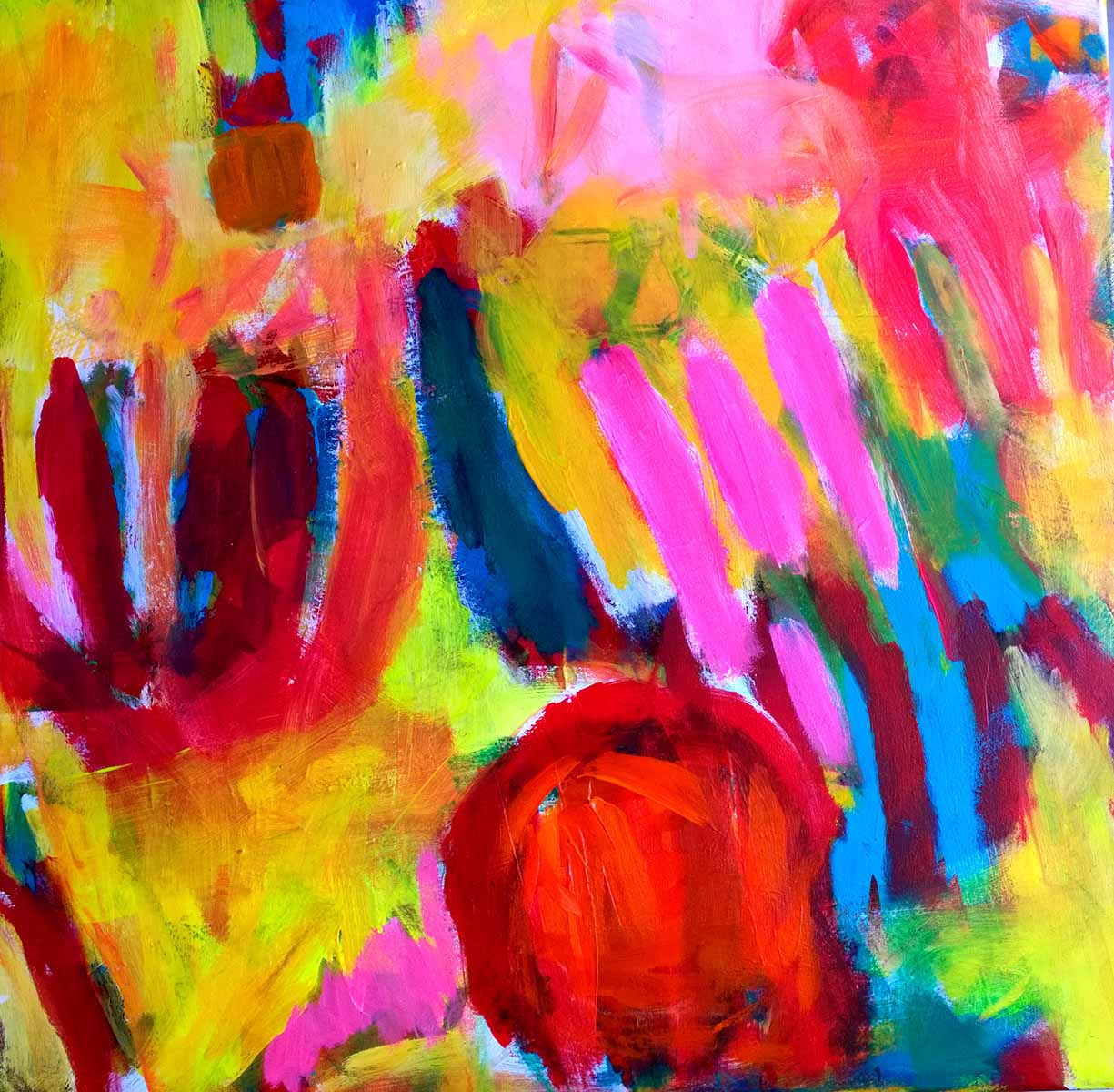 colour migrations no. 15/2016, acrylics/canvas, 70x70cm